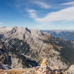 Panorama mit Zugspitze
