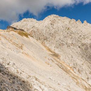 Blick zurück zur Meilerhütte