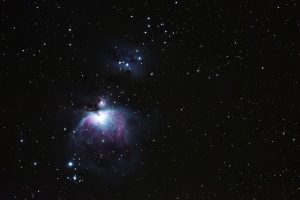 Orion-Nebel, 600mm