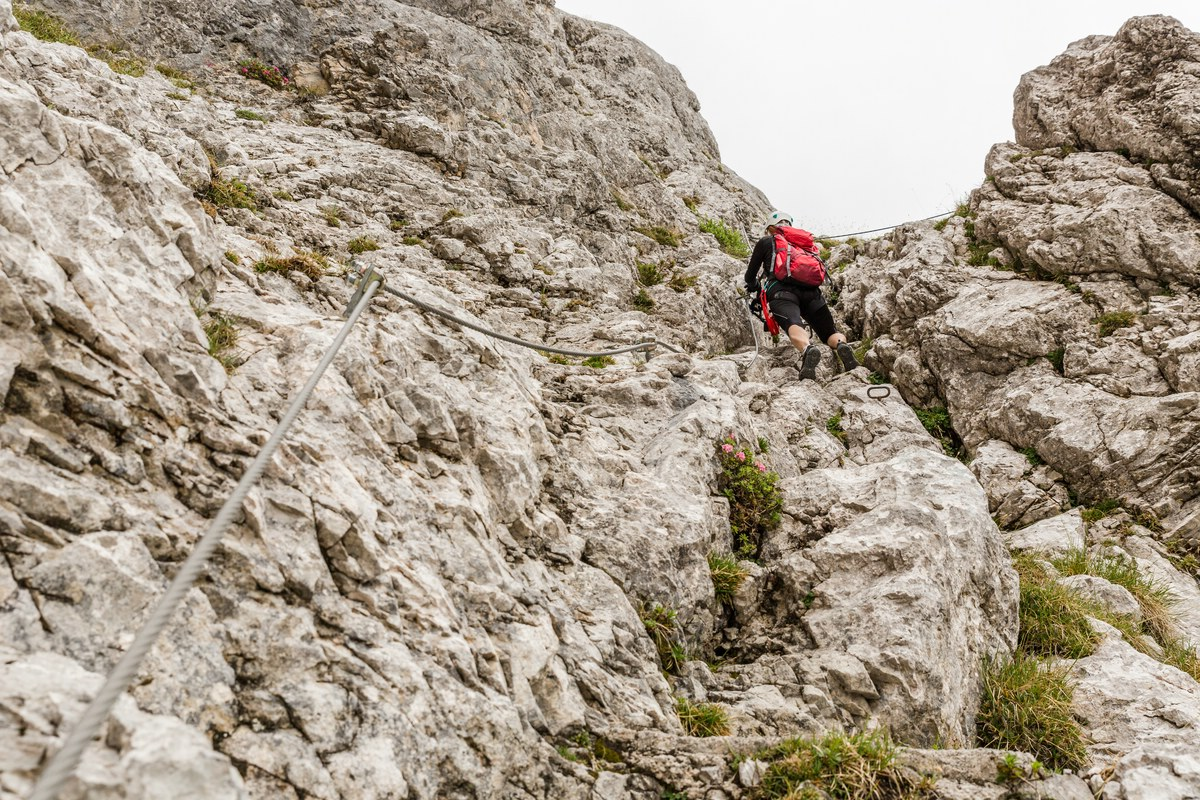 Klettersteig Lamsenspitze : U lamsenspitze über brudertunnel smw fotografie